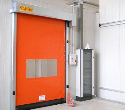 Brzopodizna vrata Lampo Crash su fleksibilna i samoregulirajuća rolo vrata