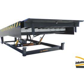 Pretovarna hidraulična rampa ili most s teleskopskim izvlačenjem prilagodljiva je svakoj utovarnoj situaciji.