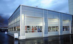 Sekcijska segmentna vrata Spacelite HT40. Segmentno slaganje panela - jedinstvena tehnologija na globalnom tržištu.
