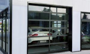 Sekcijska segmentna vrata Spacelite HTvision. Segmentno slaganje panela - jedinstvena tehnologija na globalnom tržištu.