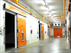 Hladionička vrata koja garantiraju visoku energetsku učinkovitost.